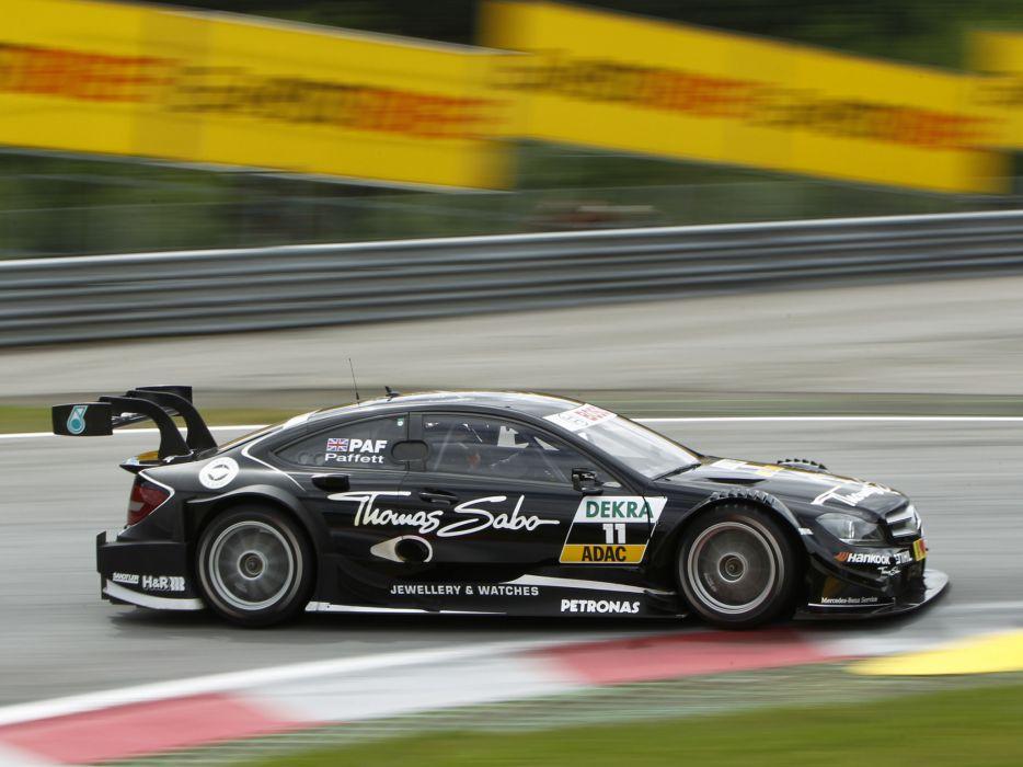 2012 Mercedes Benz C AMG DTM C204 race racing    n wallpaper