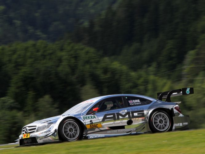 2012 Mercedes Benz C AMG DTM C204 race racing f wallpaper