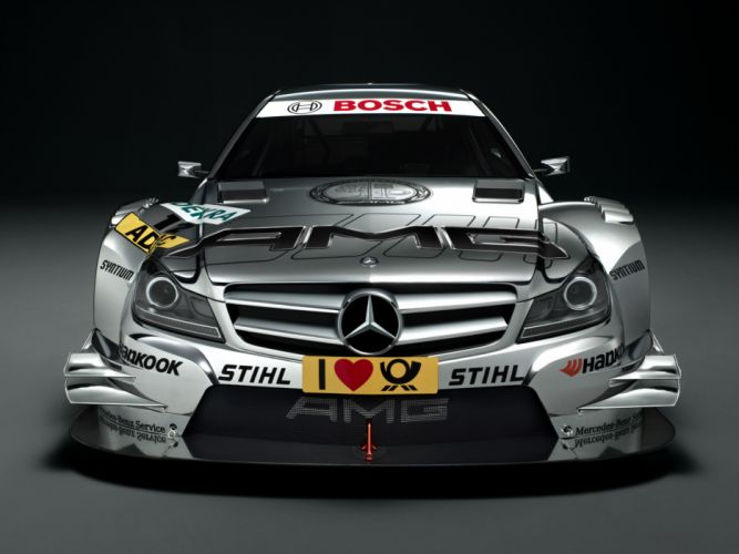 2012 Mercedes Benz C AMG DTM C204 race racing fw wallpaper