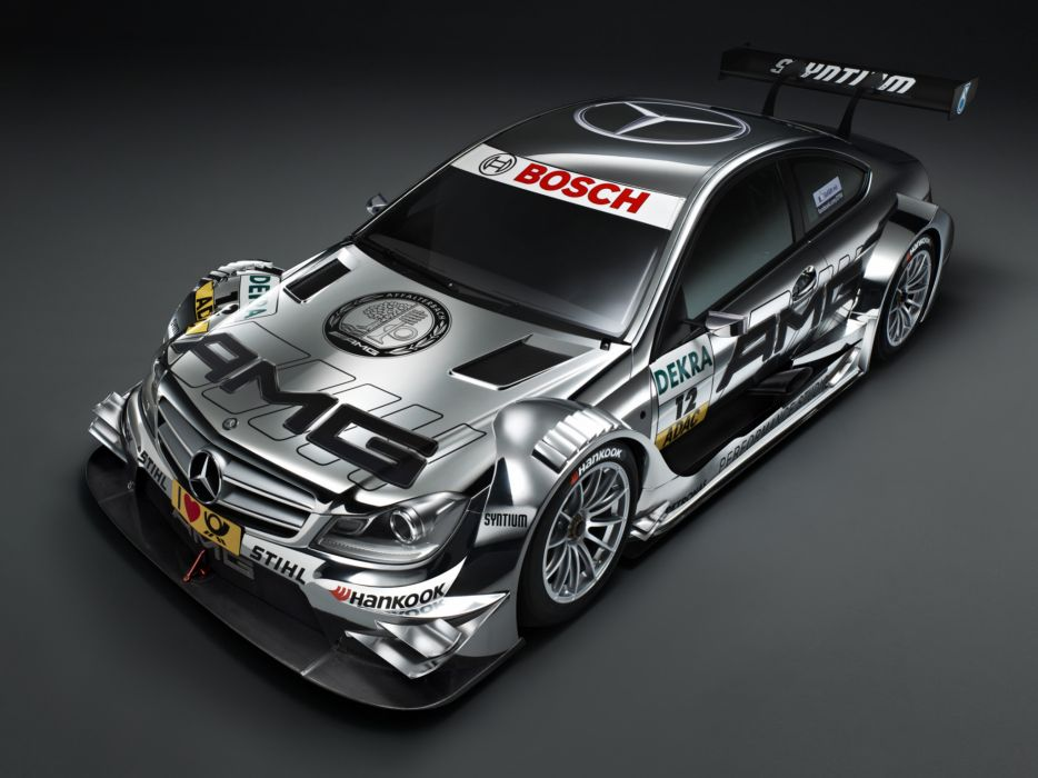2012 Mercedes Benz C AMG DTM C204 race racing   b wallpaper