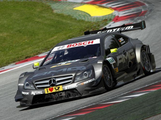 2012 Mercedes Benz C AMG DTM C204 race racing ds wallpaper
