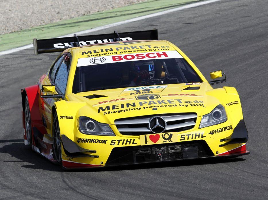 2012 Mercedes Benz C AMG DTM C204 race racing   fa wallpaper