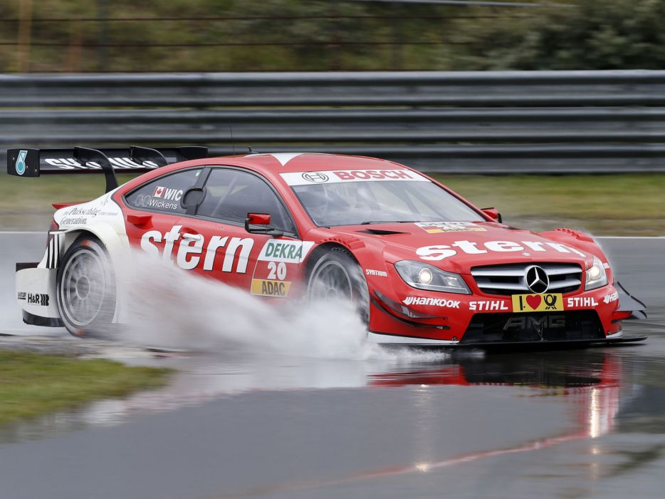 2012 Mercedes Benz C AMG DTM C204 race racing   fe wallpaper
