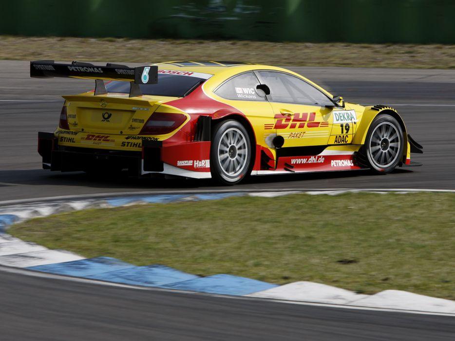 2012 Mercedes Benz C AMG DTM C204 race racing   fb wallpaper