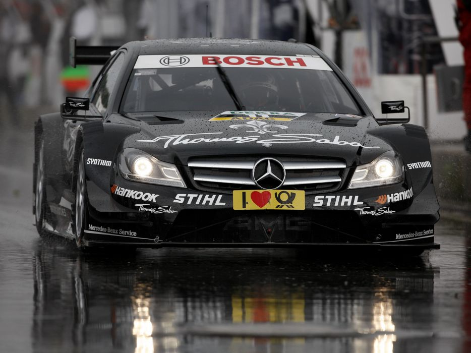 2012 Mercedes Benz C AMG DTM C204 race racing wallpaper