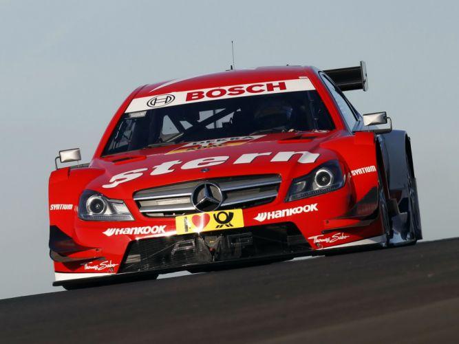 2012 Mercedes Benz C AMG DTM C204 race racing j wallpaper