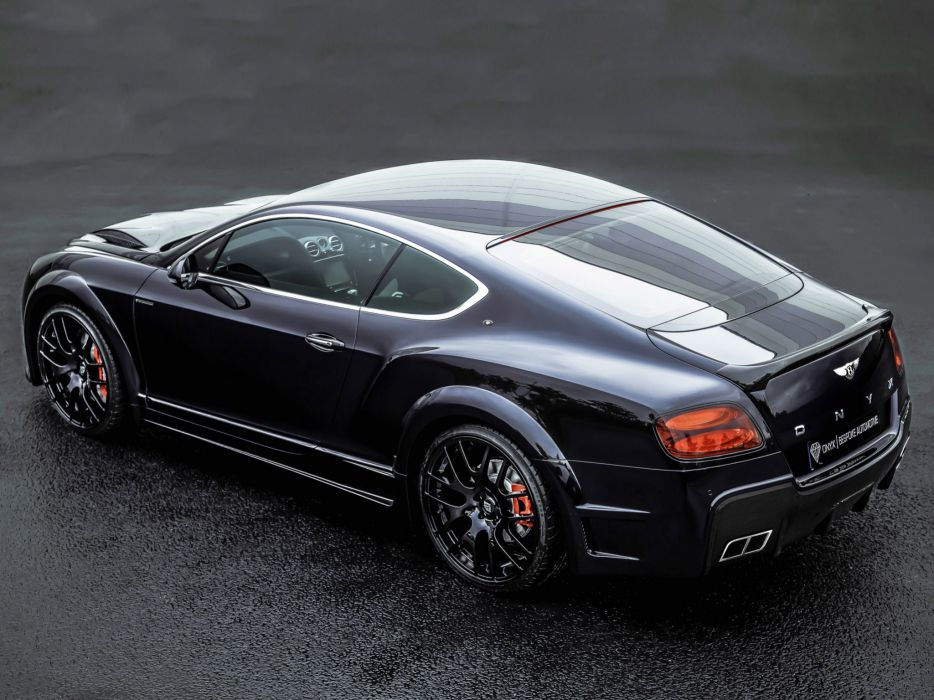 2013 Bentley Continental GTVX ONYX Concept tuning luxury wheel      g wallpaper