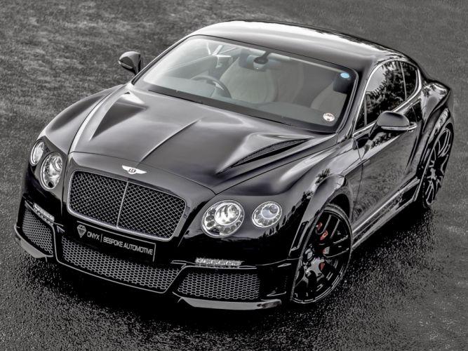 2013 Bentley Continental GTVX ONYX Concept tuning luxury wallpaper