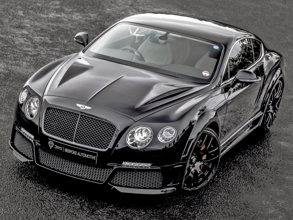 2013 Bentley Continental GTVX ONYX Concept tuning luxury wallpaper