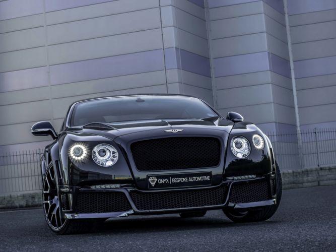 2013 Bentley Continental GTVX ONYX Concept tuning luxury f wallpaper