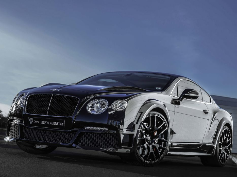 2013 Bentley Continental GTVX ONYX Concept tuning luxury   g wallpaper