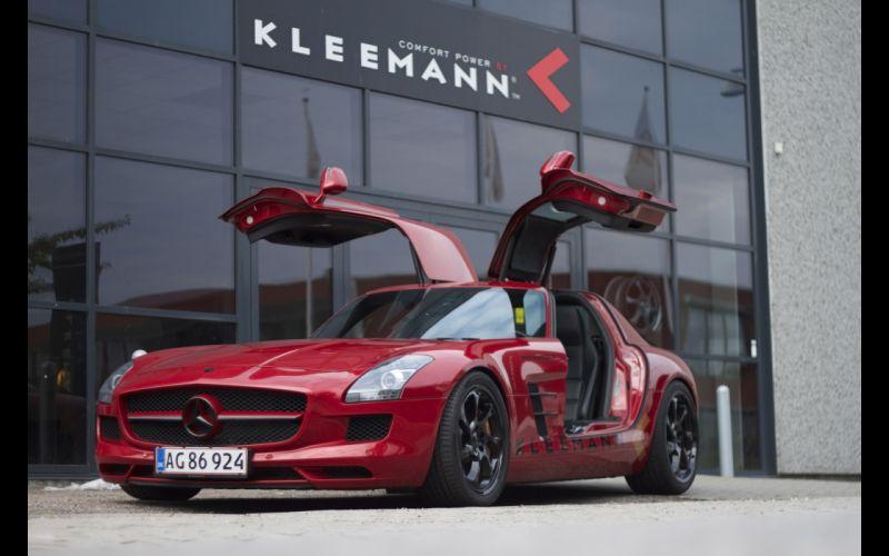 2013 Kleemann Mercedes Benz SLS AMG tuning ye wallpaper