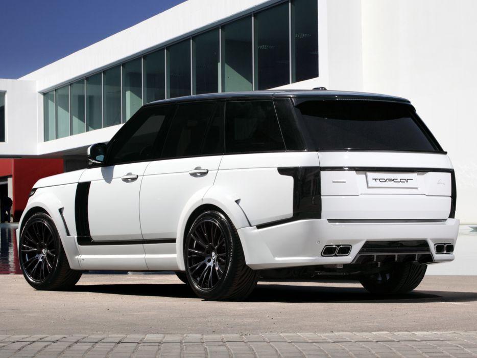 2013 LUMMA CLR R Range Rover Supercharged tuning suv    f wallpaper