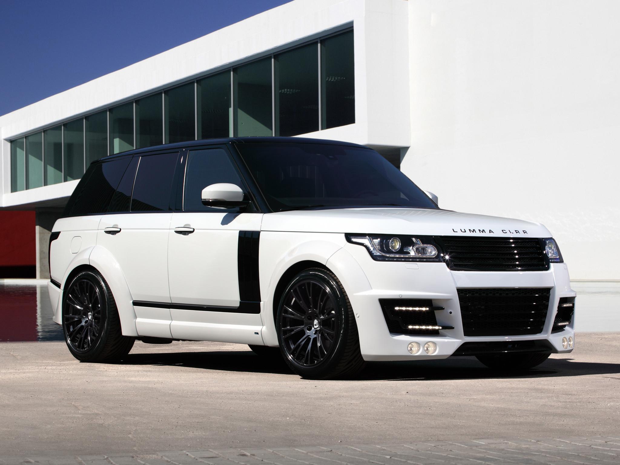 2013 Lumma Clr R Range Rover Supercharged Tuning Suv Fs