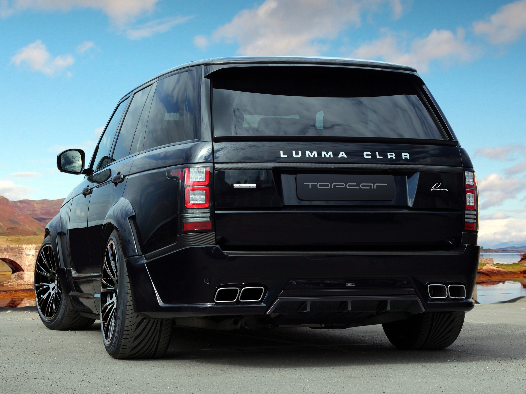 2013 lumma clr r range rover supercharged tuning suv f. Black Bedroom Furniture Sets. Home Design Ideas
