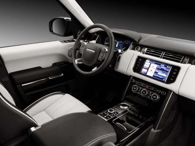 2013 LUMMA CLR R Range Rover Supercharged tuning suv interior f wallpaper