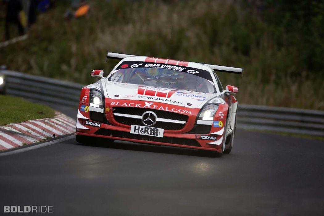 2013 Mercedes Benz SLS AMG GT3 race racing supercar   je wallpaper