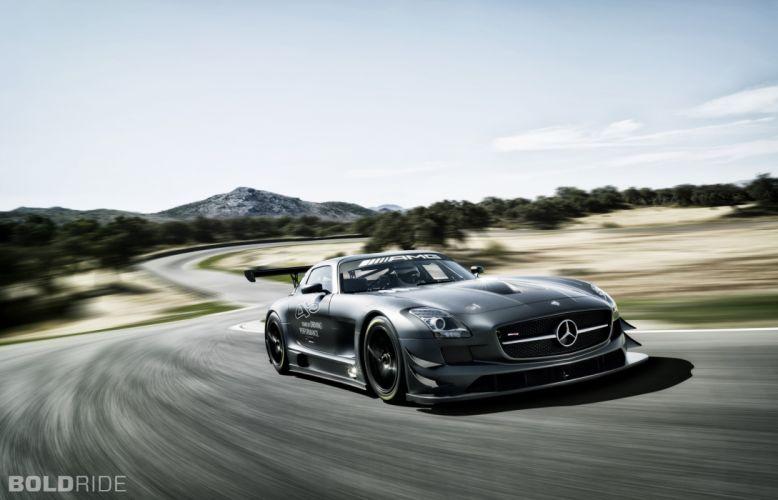 2013 Mercedes Benz SLS AMG GT3 race racing supercar tg wallpaper