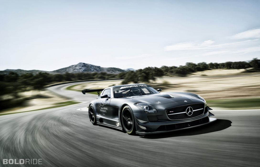 2013 Mercedes Benz SLS AMG GT3 race racing supercar   tg wallpaper