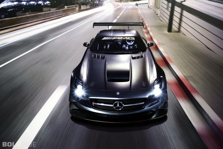 2013 Mercedes Benz SLS AMG GT3 race racing supercar if wallpaper