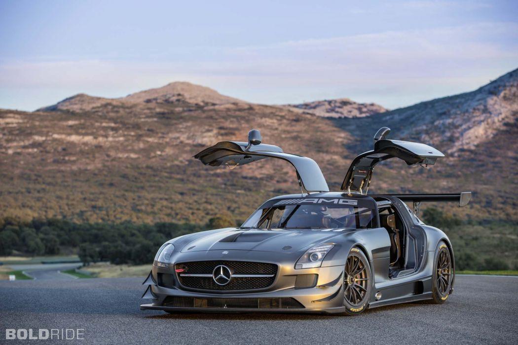 2013 Mercedes Benz SLS AMG GT3 race racing supercar  nb wallpaper