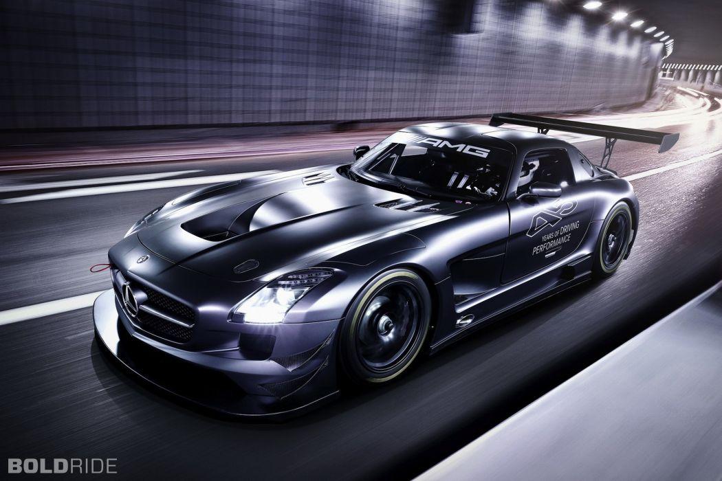 2013 Mercedes Benz SLS AMG GT3 race racing supercar  ry wallpaper
