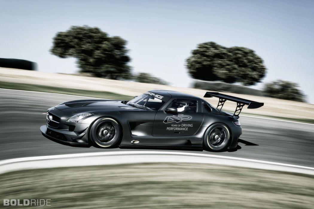 2013 Mercedes Benz SLS AMG GT3 race racing supercar  xs wallpaper
