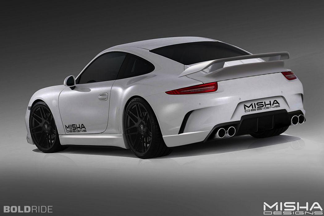 2013 Misha-Designs Porsche 991 BodyKit tuning supercar  b wallpaper