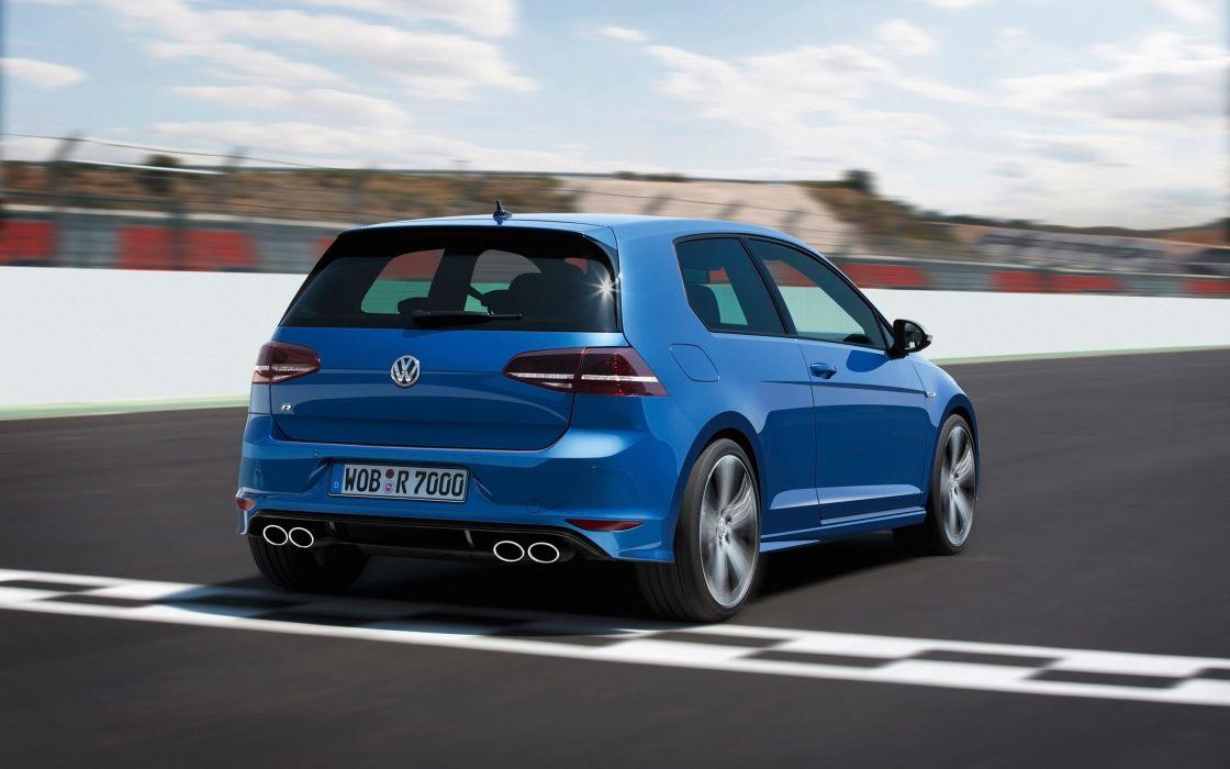 2014 Volkswagen Golf R golf-r   h wallpaper