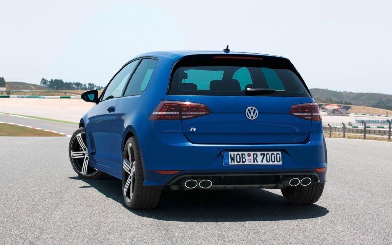 2014 Volkswagen Golf R golf-r jd wallpaper