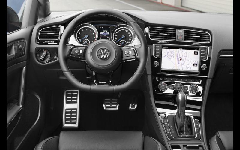 2014 Volkswagen Golf R golf-r interior h wallpaper