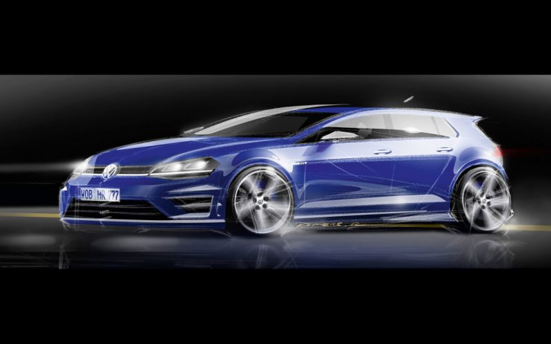 2014 Volkswagen Golf R golf-r g wallpaper