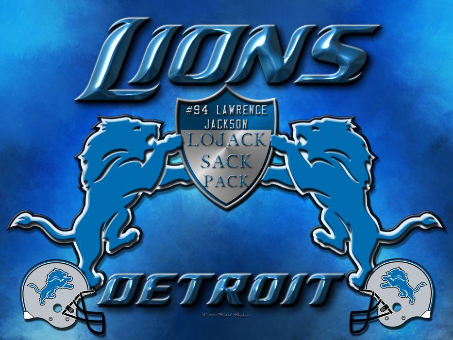 DETROIT LIONS nfl football   te wallpaper