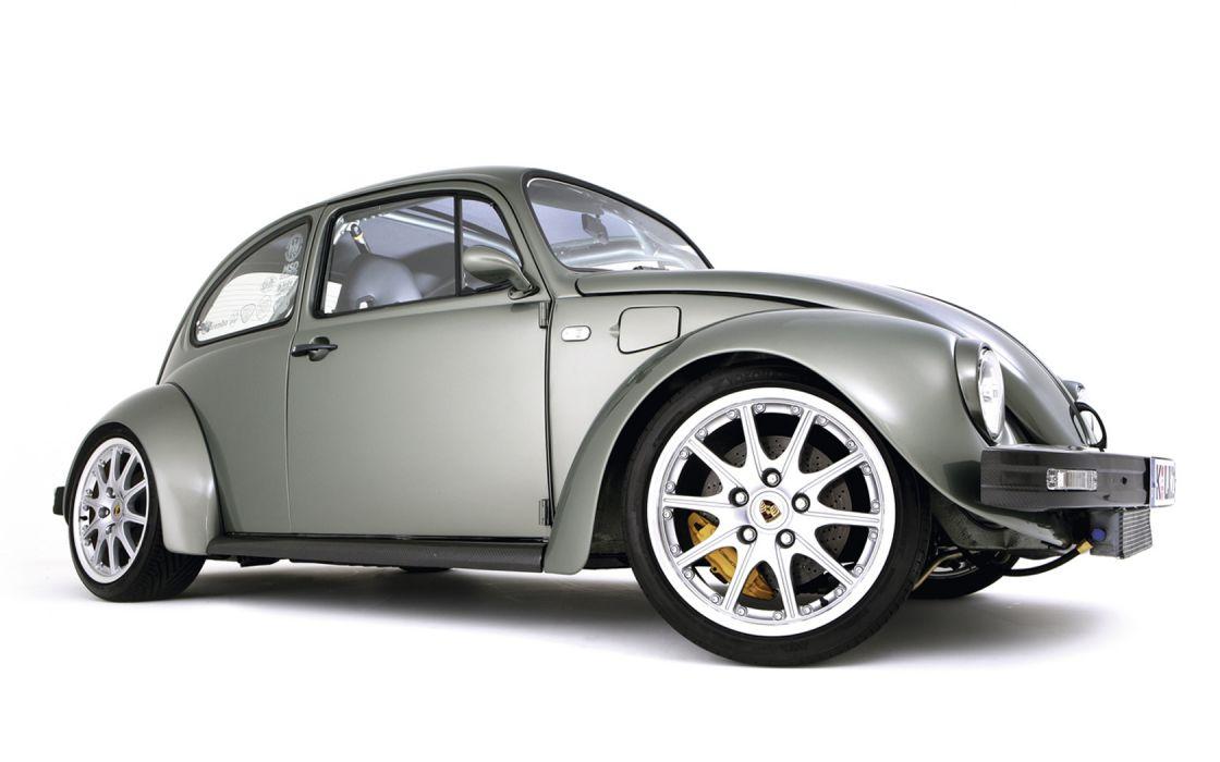 VW Beetle Porsche Wheels wallpaper
