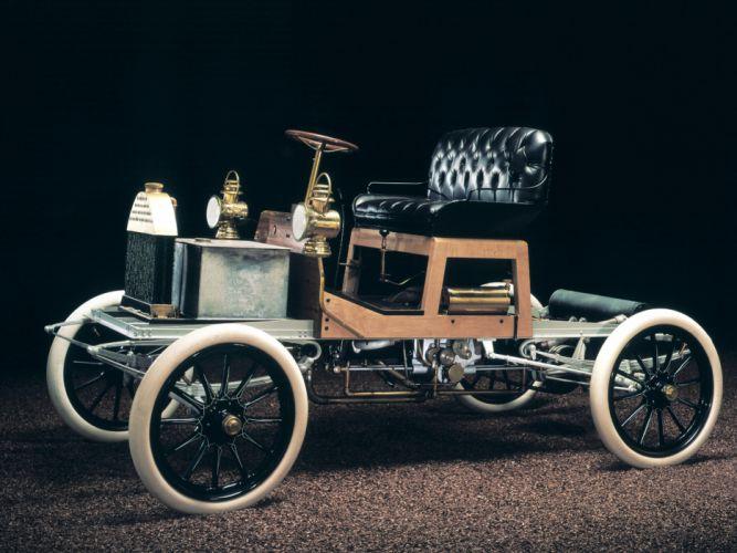 1904 Buick Model-B Touring retro wallpaper