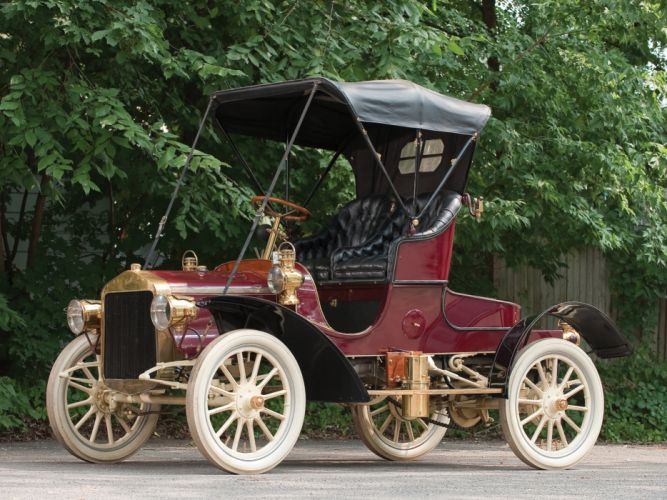 1906 Buick Model-G Roadster retro wallpaper