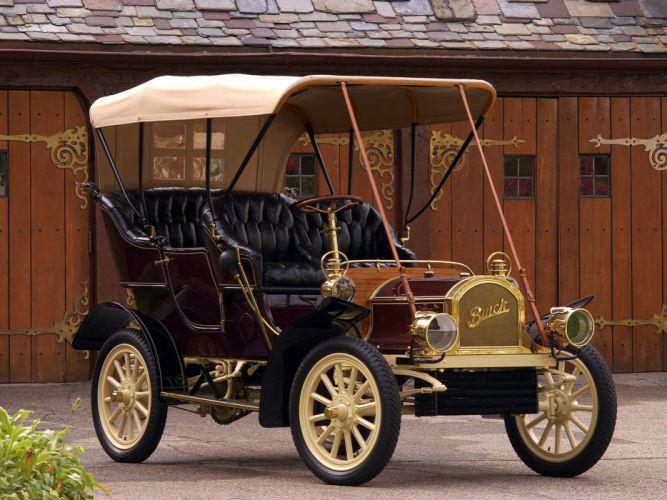 1905 Buick Model-C Touring retro wallpaper