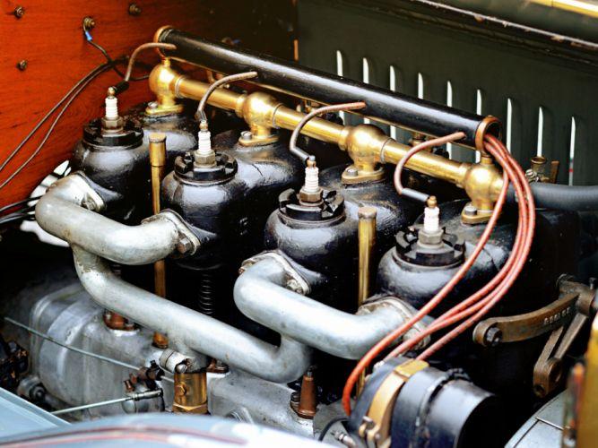 1908 Buick Model -S Tourabout retro engine g wallpaper