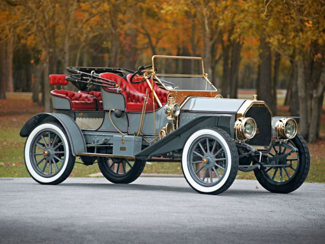 1908 Buick Model -S Tourabout retro g wallpaper