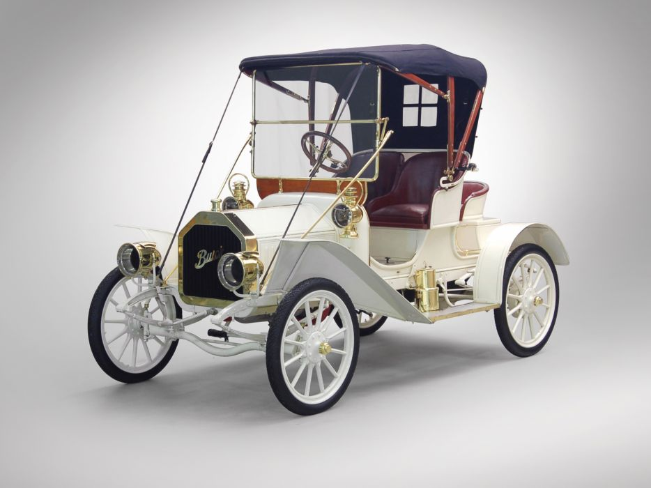 1908 Buick Model-10 Touring Runabout retro luxury   f wallpaper