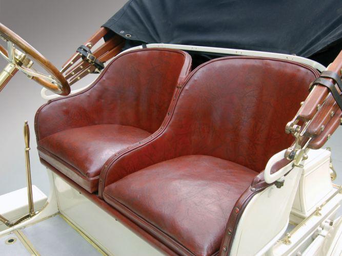 1908 Buick Model 10 Touring Runabout Retro Luxury Interior