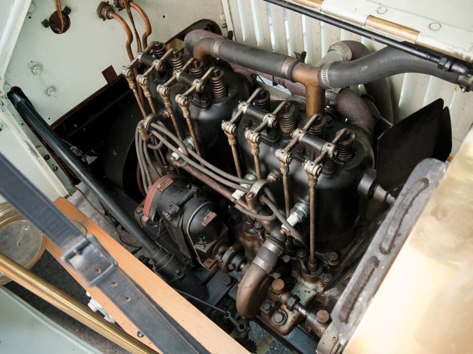 1908 Buick Model-10 Touring Runabout retro luxury engine     g wallpaper