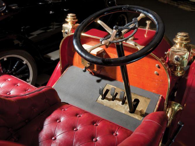 1908 Buick Model-G Roadster retro interior h wallpaper