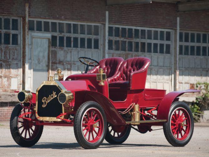 1908 Buick Model-G Roadster retro wallpaper
