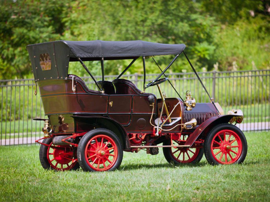 1909 Buick Model-F Touring retro  g wallpaper