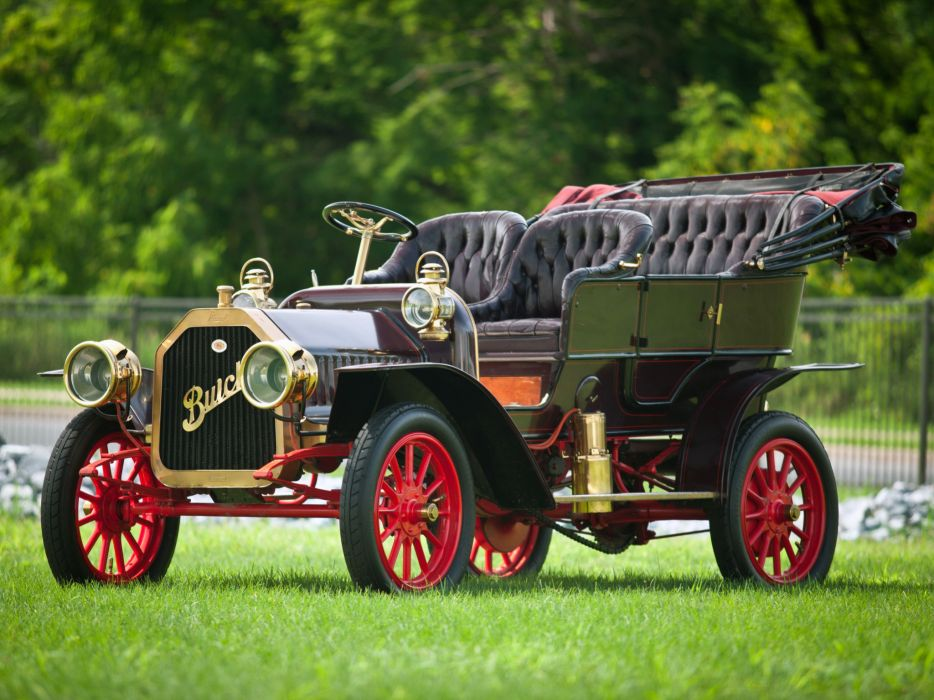 1909 Buick Model-F Touring retro wallpaper | 2048x1536 | 155731 | WallpaperUP