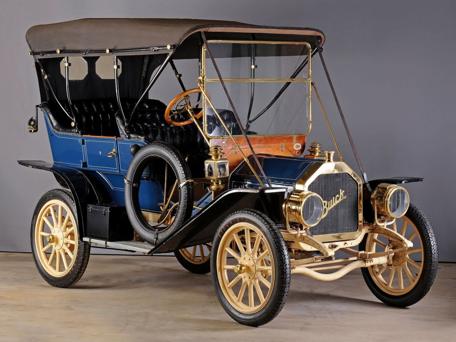 1910 Buick Model-10 Toy Tonneau retro wallpaper