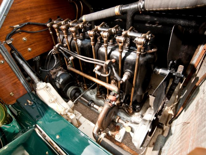 1910 Buick Model-19 Touring retro engine h wallpaper