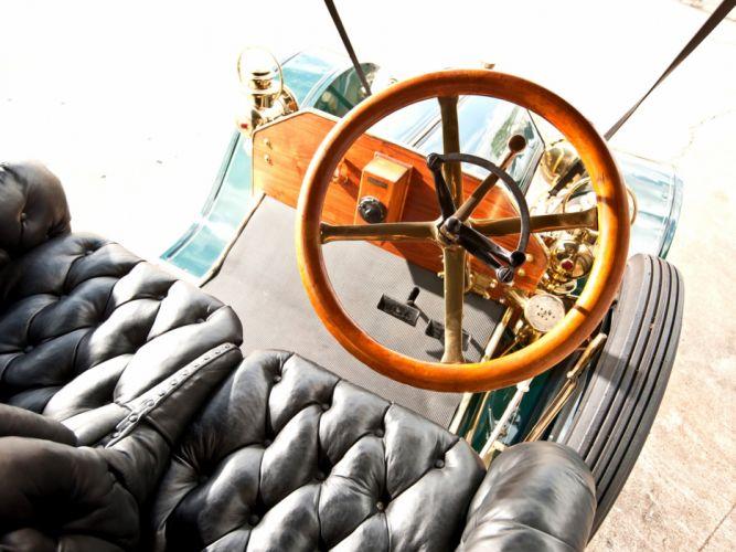1910 Buick Model-19 Touring retro interior h wallpaper