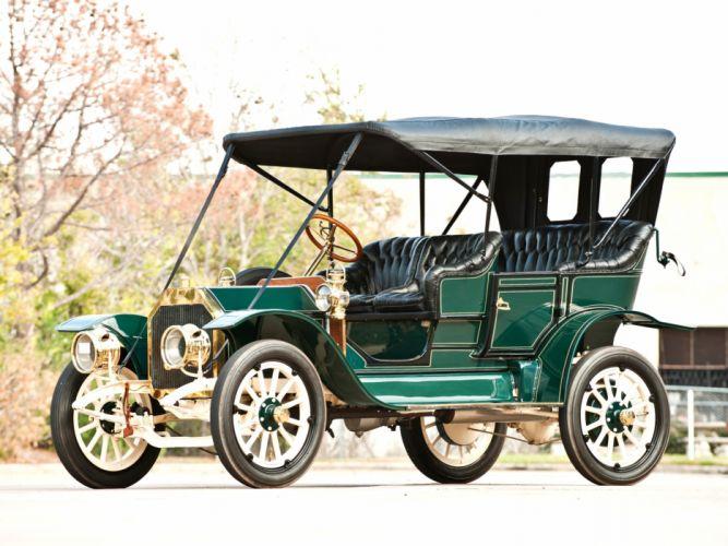 1910 Buick Model-19 Touring retro wallpaper